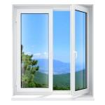 Een raam dat je aan de zijkant opent en naar binnen of buiten zwaait noem je openslaande ramen.© LoopAll - Fotolia