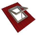 Via de onderkant klap je het raam naar buiten bij uitzetramen.© 3drenderings - Fotolia