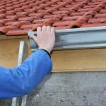 Zinken dakgoten en zinken gevelbedekking komt meer voor dan het geheel bedekken van het dak met zink.© free_photo - Fotolia